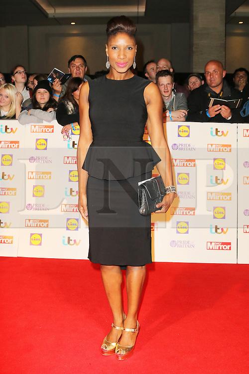 © Licensed to London News Pictures. 07/10/2013, UK. Denise Lewis,  Pride of Britain Awards, Grosvenor House Hotel, London UK, 07 October 2013. Photo credit : Richard Goldschmidt/Piqtured/LNP