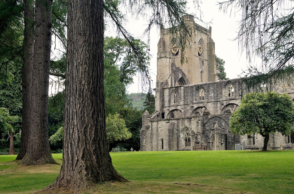 Dunkeld Cathedral dates from 1260. Perth and Kinross, Tayside, Scotland