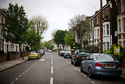 UK ENGLAND LONDON 1MAY12 - Ashmore Road in Maida Vale, W9. ....jre/Photo by Jiri Rezac....© Jiri Rezac 2012