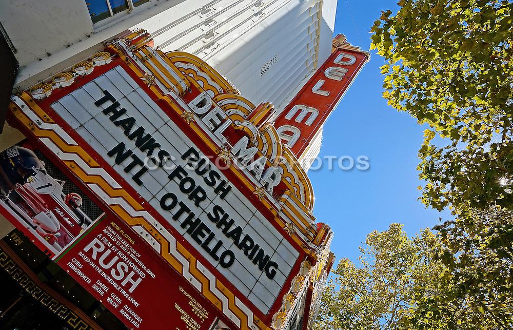 Del Mar Theater in Santa Cruz