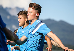 01.07.2016, Athletic Area, Schladming, AUT, U19 EURO, Vorbereitung Deutschland, DFB U19 Junioren, im Bild v.l. Gökhan Gül (Vfl Bochum, Deutschland U19), Fabian Reese (FC Schalke 04, Deutschland U19) // during a training camp of Team Germany for preparation for the UEFA European Under-19 Championship at the Athletic Area, Austria on 2016/07/01. EXPA Pictures © 2016, PhotoCredit: EXPA/ Martin Huber