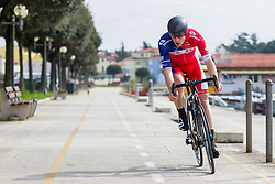 David Per of KK Adria Mobil during prologue (2km) of 13th Istrian Spring Trophy cycling race on March 10, 2016 in Umag, Croatia. Photo by Urban Urbanc / Sportida