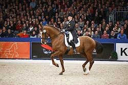 Dorofeeva Tatiana (NED) - Kartsevo Upperville<br /> KWPN Stallion Selection - 's Hertogenbosch 2014<br /> © Dirk Caremans