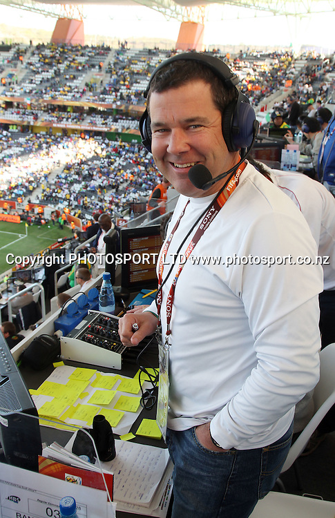 Commentator Andrew Dewhurst.<br />