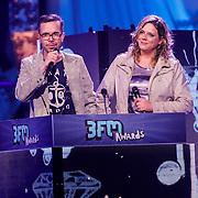 NLD/Amsterdam/20130418- Uitreiking 3FM Awards 2013, Michiel Veenstra en ???