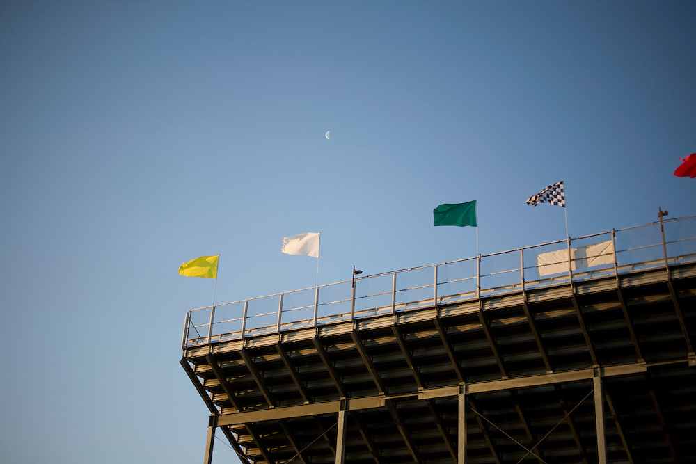 The stands at the Rockingham Speedway.