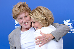 File photo - Robert Redford and Jane Fonda attending the Our Souls at Night photocall during the 74th Venice International Film Festival (Mostra di Venezia) at the Lido, Venice, Italy on September 01, 2017. Oscar winner Robert Redford will retire from acting following this autumn's release of his upcoming film The Old Man & The Gun, the 81-year-old told Entertainment Weekly in a story published on Monday. Photo by Aurore Marechal/ABACAPRESS.COM