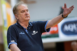 Bozidar Maljkovic, head coach of Slovenia during friendly match between National teams of Slovenia and Republic of Macedonia for Eurobasket 2013 on July 28, 2013 in Litija, Slovenia. Slovenia defeated Macedonia 63-54. (Photo by Vid Ponikvar / Sportida.com)