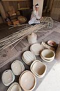 Korean Folk Village. Bamboo products.