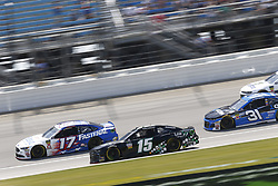 July 1, 2018 - Joliet, Illinois, United States of America - Ricky Stenhouse, Jr (17) battles for position during the Overton's 400 at Chicagoland Speedway in Joliet, Illinois  (Credit Image: © Justin R. Noe Asp Inc/ASP via ZUMA Wire)