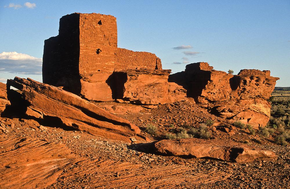 Wukoki Pueblo ruins; Wupatki National Monument, Arizona