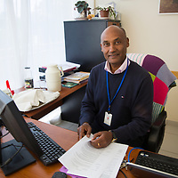 Zelalem, Dean of Hamlin College of Midwifery