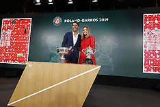 Draw Of French Tennis Open 2019 - 23 May 2019