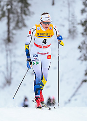 25.11.2017, Nordic Arena, Ruka, FIN, FIS Weltcup Langlauf, Nordic Opening, Kuusamo, im Bild Anna Dyvik (SWE) // Anna Dyvik of Sweden during the FIS Cross Country World Cup of the Nordic Opening at the Nordic Arena in Ruka, Finland on 2017/11/25. EXPA Pictures © 2017, PhotoCredit: EXPA/ JFK