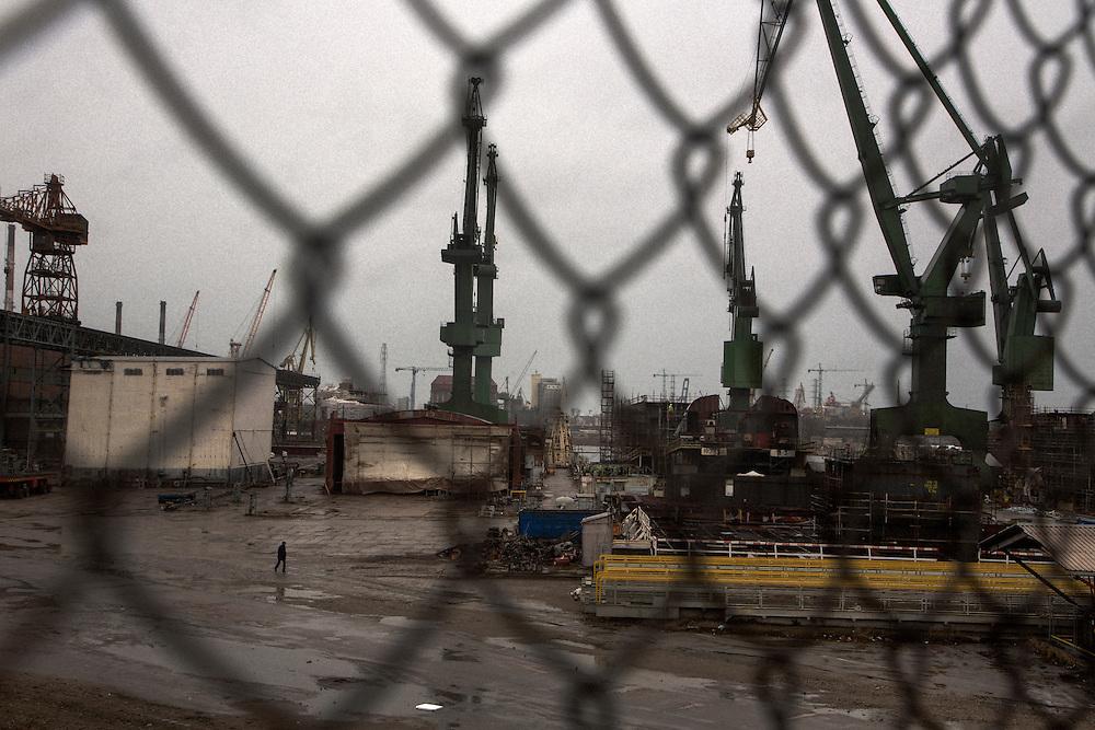 Gdansk shipyard<br /> <br /> Gdansk and Remontowa Shipyards