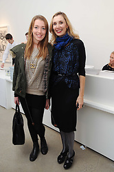 Left to right, ANGELICA HICKS and her mother ALLEGRA HICKS at a party to celebrate the publication of Allegra Hick's book 'An Eye For Design' held at he Timothy Taylor Gallery, Carlos Place, London on 23rd November 2010.