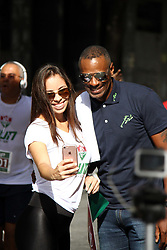 November 12, 2017 - Brazil - RIO DE JANEIRO, RJ - 12.11.2017: FLUMINENSE RUN - Olympic medalist Robson Caetano at Fluminense Run, the first official street race of the Tricolor Club. This Sunday (12) through the streets of the Marvelous City Center, with departure and arrival in Plaza Mau(Credit Image: © Fotoarena via ZUMA Press)