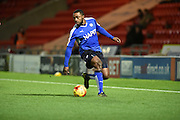 Sylvan Ebanks-Blake of Chesterfield FC during the Sky Bet League 1 match between Doncaster Rovers and Chesterfield at the Keepmoat Stadium, Doncaster, England on 24 November 2015. Photo by Ian Lyall.