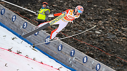 19.03.2017, Vikersundbakken, Vikersund, NOR, FIS Weltcup Ski Sprung, Raw Air, Vikersund, Finale, im Bild RAW Air Gesamtsieger Stefan Kraft (AUT) // RAW Air Overall Winner Stefan Kraft of Austria // during the 4th Stage of the Raw Air Series of FIS Ski Jumping World Cup at the Vikersundbakken in Vikersund, Norway on 2017/03/19. EXPA Pictures © 2017, PhotoCredit: EXPA/ Tadeusz Mieczynski
