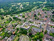 Nederland, Overijssel, Gemeente Hof van Twente; 21–06-2020; De Stad Delden, kleine historische stad. Landgoed Twickel in de achtergrond.<br /> Delden city, small historic town.<br /> <br /> luchtfoto (toeslag op standaard tarieven);<br /> aerial photo (additional fee required)<br /> copyright © 2020 foto/photo Siebe Swart