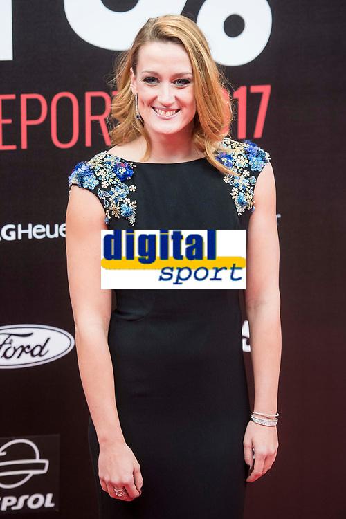Mireia Belmonte attends to photocall of 50th anniversary sport newspaper As in Madrid, Spain. December 04, 2017. (ALTERPHOTOS/Borja B.Hojas)