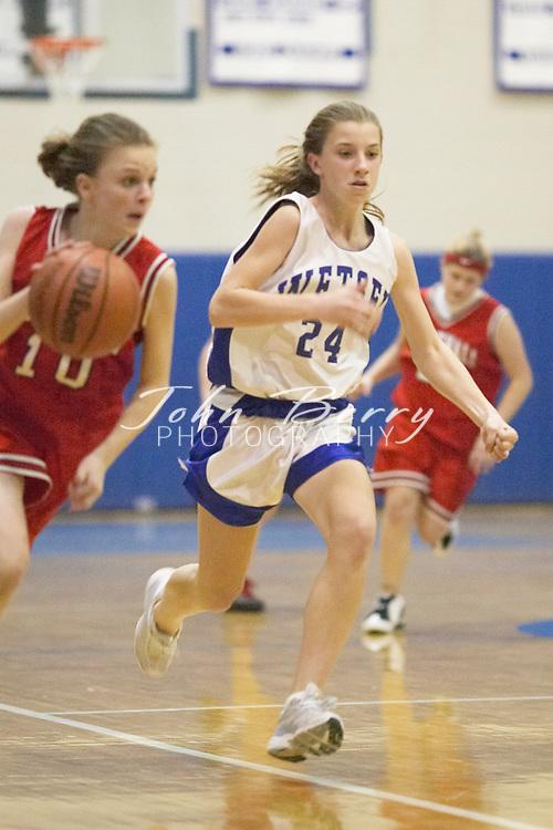 8th Grade Girls Basketball..Third Period..vs North Fork..December 2, 2004