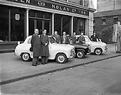 1958 - 03/04 Circuit of Ireland Drivers at Lincoln and Nolan