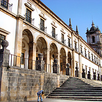"""Alcobaça Monastery and Church History in Alcobaça, Portugal <br /> During the Battle of Ourique against the Moors in 1147, Afonso Henriques promised that if he won he would build a magnificent monastery and church for the Cistercian Order of monks. Known as """"The Conqueror,"""" Afonso I became the first king of Portugal but would not live long enough to see the Monastery of St. Mary finished in 1223 and the church completed 29 years later."""