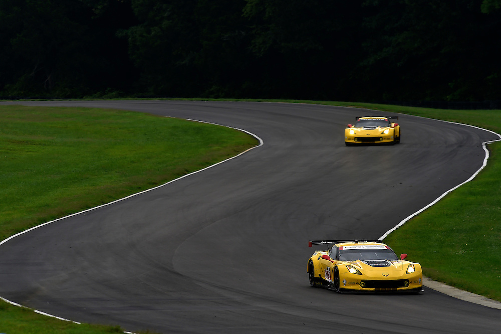 22-24 August 2014, Alton, Virginia USA<br /> 3, Chevrolet, Corvette C7.R, GTLM, Jan Magnussen, Antonio Garcia, 4, Chevrolet, Corvette C7.R, GTLM, Oliver Gavin, Tommy Milner<br /> &copy;2014, Scott R LePage <br /> LAT Photo USA