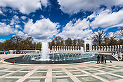 The World War II Memorial, Washington, DC USA