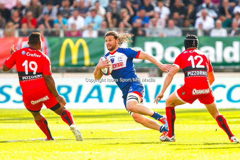 Fabien ALEXANDRE  - 11.04.2015 - Grenoble / Toulon  - 22eme journee de Top 14 <br />