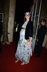 Model JADE PARFITT at the 2006 Moet & Chandon Fashion Tribute in honour of photographer Nick Knight, held at Strawberry Hill House, Twickenham, Middlesex on 24th October 2006.<br />