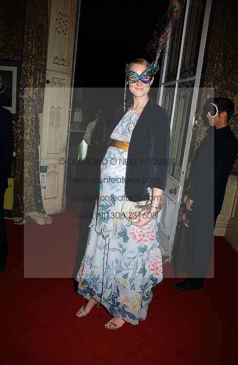 Model JADE PARFITT at the 2006 Moet & Chandon Fashion Tribute in honour of photographer Nick Knight, held at Strawberry Hill House, Twickenham, Middlesex on 24th October 2006.<br /><br />NON EXCLUSIVE - WORLD RIGHTS