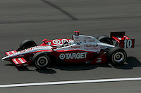 Darren Manning at the Kansas Speedway, Kansas Indy 300, July 3, 2005