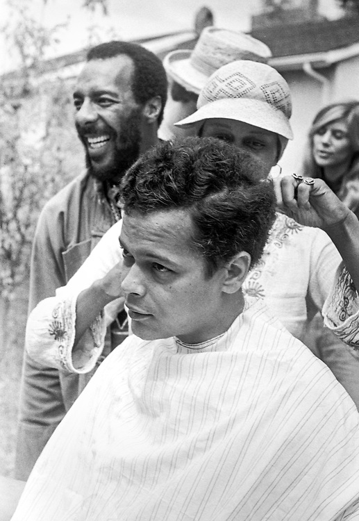 """Civil rights leader, politician, actor and former Chairman of the NAACP, Julian Bond, has died at age 75. Bond talks with folksinger Richie Havens who was urging him to """"go for a fro"""" during the filming of the 1977 feature film, """"Greased Lightning"""".  The film starred Grier, Richard Pryor and Beau Bridges and chronicled the life of the first African American NASCAR driver - Wendell Scott. with folksinger Richie Havens during the filming of the 1977 feature film, """"Greased Lightning"""".  The film starred Grier, Richard Pryor and Beau Bridges and chronicled the life of the first African American NASCAR driver - Wendell Scott."""