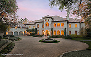 Large custom home in Preston Hollow area of Dallas Texas