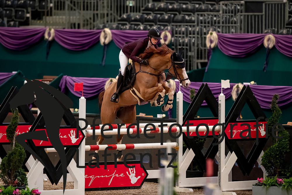 GEISTLINGER Sophia (GER), Baloua<br /> Leipzig - Partner Pferd 2019<br /> SPOOKS-Amateur Trophy<br /> Medium Tour<br /> 18. Januar 2019<br /> © www.sportfotos-lafrentz.de/Stefan Lafrentz