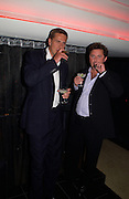 Jeremy Hemmings and Stephen Knight, Opening of Floridita, Wardour St. London. 21 October 2004. ONE TIME USE ONLY - DO NOT ARCHIVE  © Copyright Photograph by Dafydd Jones 66 Stockwell Park Rd. London SW9 0DA Tel 020 7733 0108 www.dafjones.com
