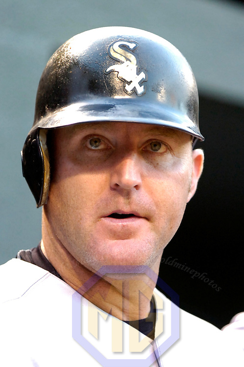 12 July 2007:  Chicago White Sox designated hitter Jim Thome (25) in action against the Baltimore Orioles.  The White Sox defeated the Orioles 9-7 at Camden Yards in Baltimore, MD.   ****For Editorial Use Only****