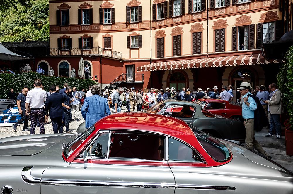 Como, Italy, Concorso d'Eleganza Villa D'Este, Fiat 8V