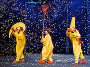 Slava's Snowshow at The Royal Festival Hall, Southbank, London, Great Britain <br /> press photocall<br /> 18th December 2012 <br /> <br /> devised &amp; directed by Slava Polunin <br />  <br /> <br /> Photograph by Elliott Franks