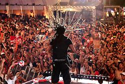 Falcão, vocalista do Rappa durante o Planeta Atlântida 2013/RS, que acontece nos dias 15 e 16 de fevereiro na SABA, em Atlântida. FOTO: Jefferson Bernardes/Preview.com