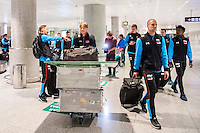 BENAHAVIS - 02-01-2017, Trainingskamp, AZ, AZ speler Wout Weghorst, AZ speler Ron Vlaar
