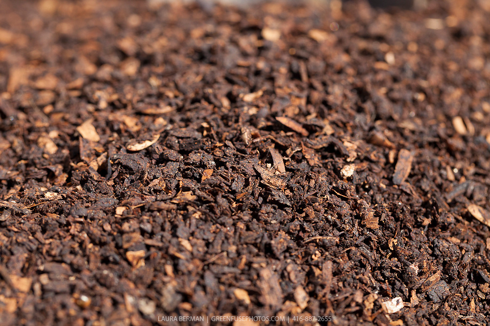 High-quality, screened, finished compost