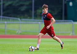 ROTTACH-EGERN, GERMANY - Friday, July 28, 2017: Liverpool's Ben Woodburn during a training session at FC Rottach-Egern on day three of the preseason training camp in Germany. (Pic by David Rawcliffe/Propaganda)