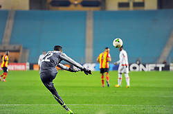 March 8, 2019 - Rades, Tunisia - Moussa Camara goalkeeper of Horoya Conakry during the  Match of the 5th day of the group phase of the CAF Champions League, between L'Esperance sportive de Tunis (EST) and Horoya Conakry (HAC) of Guinea Friday 8 March Radès.EST won by 2/0 ..photo: Yassine Mahjoub. (Credit Image: © Chokri Mahjoub/ZUMA Wire)