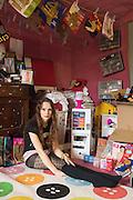 LUCY SPARROW, Essex. 29 August 2015.