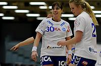 Håndball<br /> 10.03.10<br /> Postenligaen<br /> Framohallen<br /> Tertnes - Nordstrand 28 - 27<br /> Else Marthe Sørlie Lybekk (L) og Christine Homme (R) , Nordstand<br /> Foto : Astrid M. Nordhaug