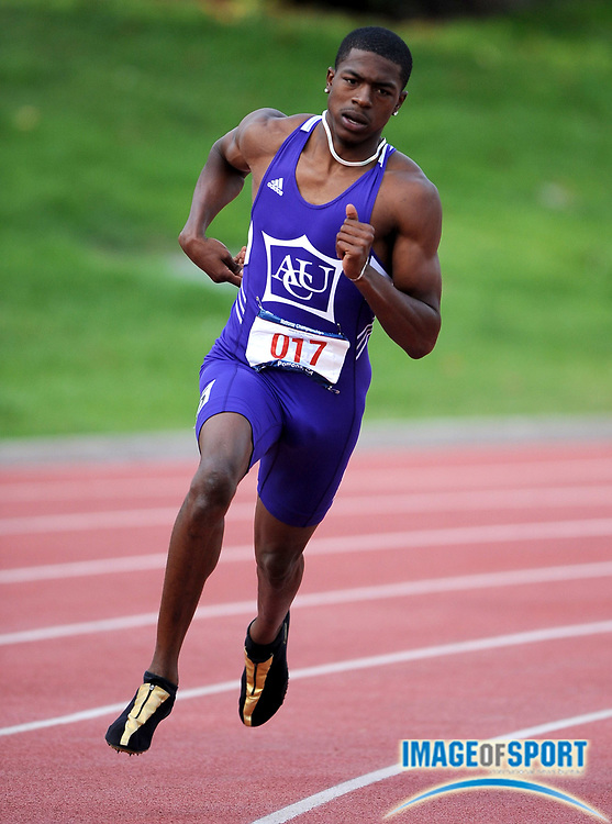 May 24, 2008; Walnut, CA, USA; Raymond Radway of Abilene Christian won the 400m in 46.35 in the NCAA Division II Track & Field Championships at Mt. San Antonio College's Hilmer Lodge Stadium.
