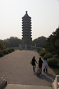 Gu Ta park, Chaoyang, Beijng, China; Pagoda of Buddhas from Ten Directions, built 1545